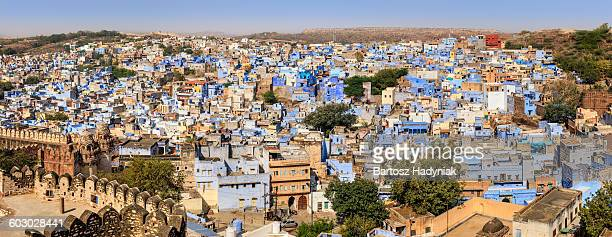 Jodhpur - panoramic view of The Blue City