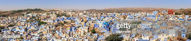 Jodhpur - panoramic view of The Blue City, Rajasthan, India