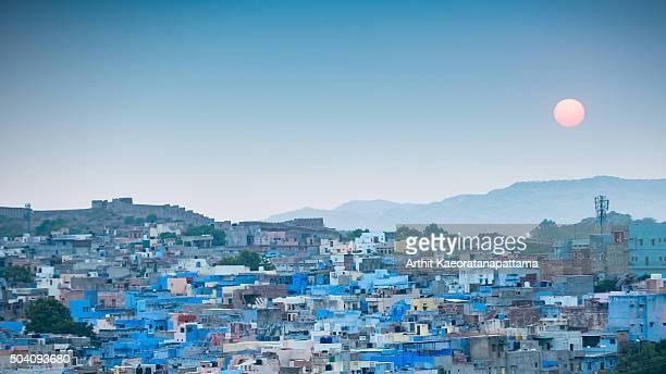 jodhpur, the blue city.rajasthan, india - jodhpur stock pictures, royalty-free photos & images