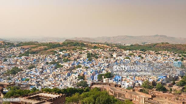 Jodhpur, the Blue City.Rajasthan, India