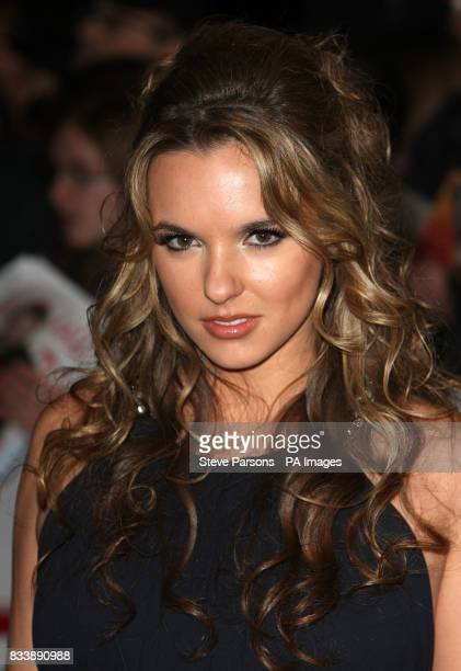 Jodi Albert arriving for the 2007 National Television Awards at the Royal Albert Hall, west London.