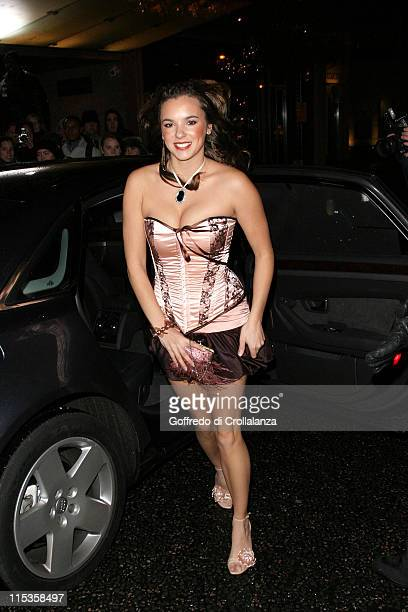 Jodi Albert during BAFTA Children's Film and Television Awards Arrivals at London Hilton in London England Great Britain