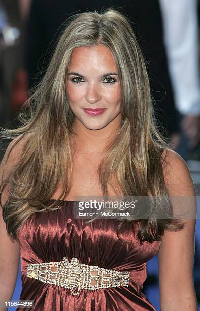 """Jodi Albert during """"Fantastic Four: Rise Of The Silver Surfer"""" World Premiere at Vue West End Leicester Square in London, United Kingdom."""
