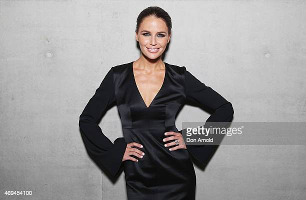 Jodi Anasta attends the MercedesBenz Presents Dinner following the Ellery Show at MercedesBenz Fashion Week Australia 2015 at Carriageworks on April...