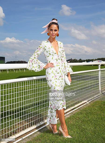 Jodi Anasta poses during Queen Elizabeth Stakes Day at Royal Randwick Racecourse on April 9 2016 in Sydney Australia