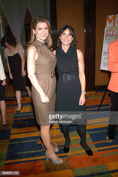 Jodi Applegate and Brenda Saget Darling attend MORE MAGAZINE Luncheon Portraits Of Style A Smart Talk For Smart Women Event at Le Cirque on September...
