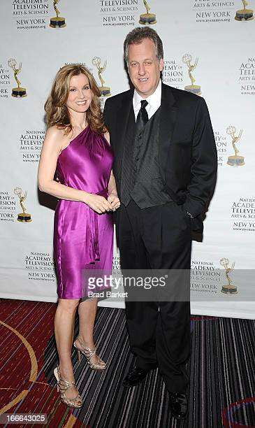 Jodi Applegate and Michael Kay attend the 56th annual New York Emmy Awards>> at the Marriott Marquis Times Square on April 14 2013 in New York City
