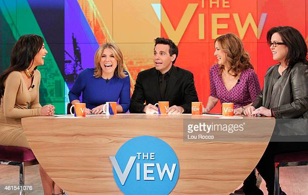 THE VIEW Jodi Applegate and Naya Rivera guest cohost Guests include Josh Gad and Ioan Gruffudd and YouTube star Cory airing today Tuesday January 13...