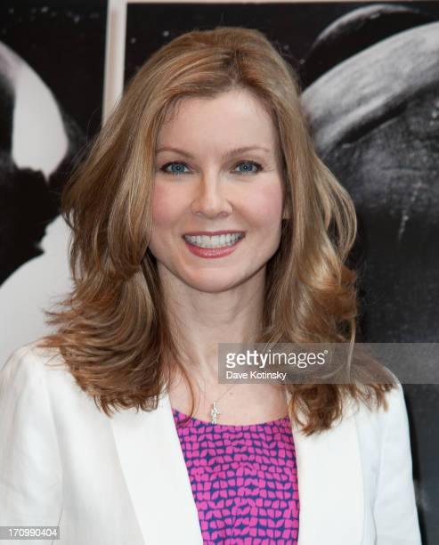 Jodi Applegate attends the Blackfish New York premiere at MOMA on June 20 2013 in New York City