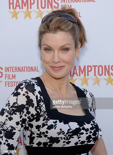 Jodi Applegate attends the Hamptons Film Festival The HIFF GSA Awards at the United Artists Theaters in East Hampton New York october 212007