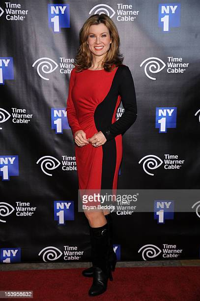 Jodi Applegate attends the NY1 20th Anniversary party in celebration of two decades of the New York City news channel at New York Public Library on...
