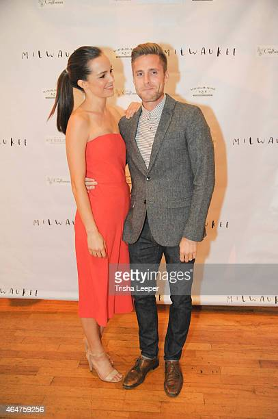 Jodi Balfour and Alex Ashbaugh attends the World Premiere AfterParty Of Milwaukee At Cinequest With DJ Dojah Faces On Film at The Craftsman on...
