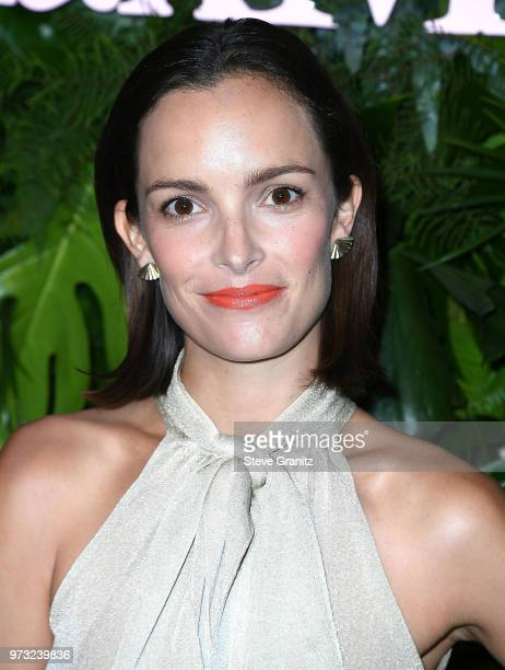 Jodi Balfour arrives at the Max Mara WIF Face Of The Future at Chateau Marmont on June 12 2018 in Los Angeles California