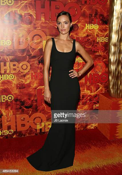 Jodi Balfour attends HBO's Official 2015 Emmy After Party at The Plaza at the Pacific Design Center on September 20 2015 in Los Angeles California
