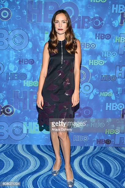 Jodi Balfour attends HBO's Post Emmy Awards Reception at The Plaza at the Pacific Design Center on September 18 2016 in Los Angeles California