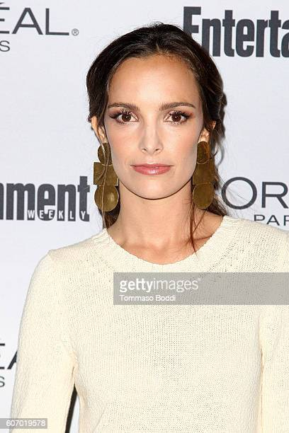 Jodi Balfour attends the Entertainment Weekly's 2016 PreEmmy Party held at Nightingale Plaza on September 16 2016 in Los Angeles California