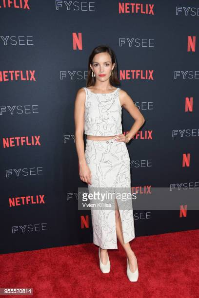 Jodi Balfour attends the Netflix FYSee Kick Off Party at Raleigh Studios on May 6 2018 in Los Angeles California