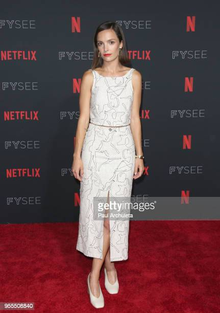 Jodi Balfour attends the Netflix FYSEE KickOff at Netflix FYSEE At Raleigh Studios on May 6 2018 in Los Angeles California