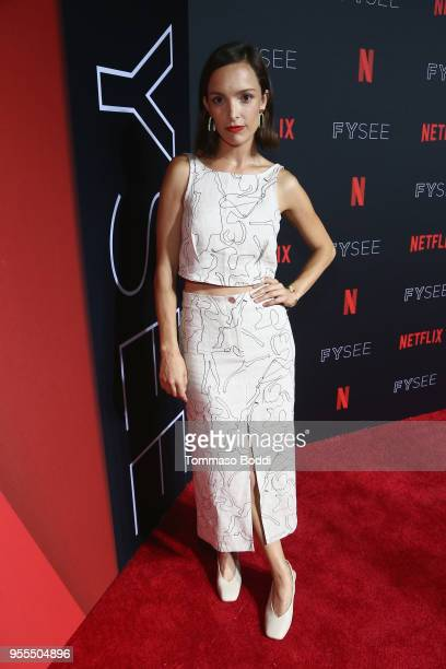 Jodi Balfour attends the Netflix FYSEE Kick-Off Event at Netflix FYSEE At Raleigh Studios on May 6, 2018 in Los Angeles, California.