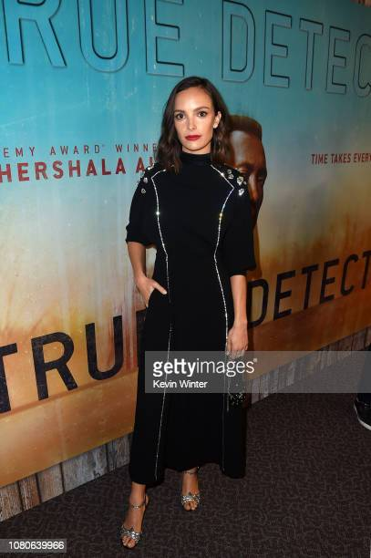 Jodi Balfour attends the premiere of HBO's 'True Detective' Season 3 at Directors Guild Of America on January 10 2019 in Los Angeles California