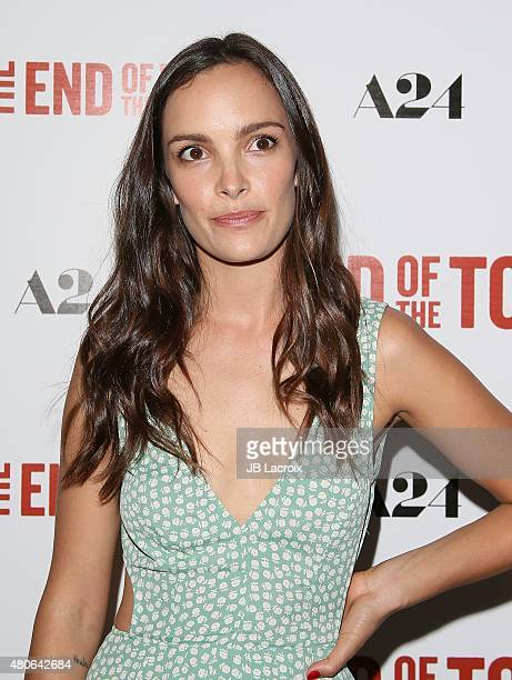Jodi Balfour attends the premiere of 'The End Of The Tour' at Writers Guild Theater on July 13 2015 in Beverly Hills California