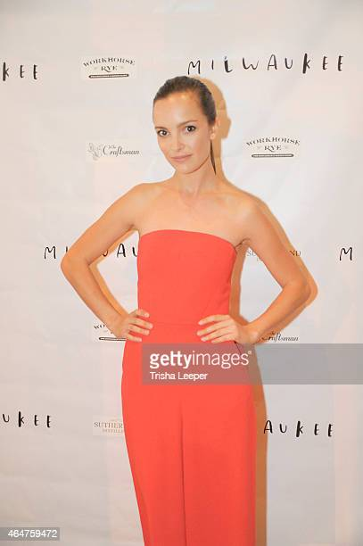 Jodi Balfour attends the World Premiere AfterParty Of Milwaukee At Cinequest With DJ Dojah Faces On Film at The Craftsman on February 27 2015 in San...