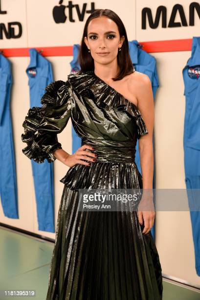 Jodi Balfour attends World Premiere of Apple TV's For All Mankind Red Carpet at Regency Village Theatre on October 15 2019 in Westwood California