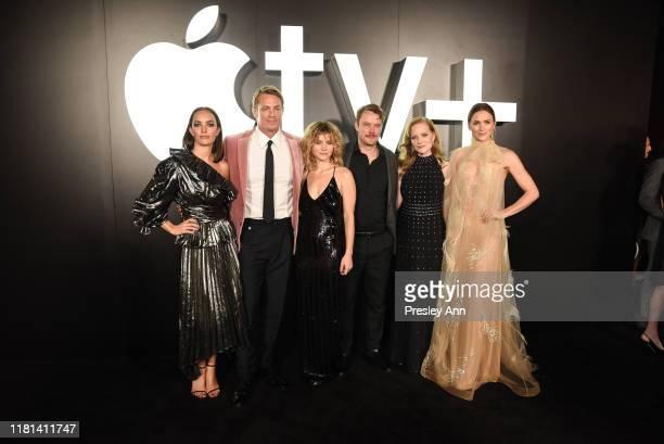 Jodi Balfour Joel Kinnaman Sarah Jones Michael Dorman Wrenn Schmidt and Shantel VanSanten attend World Premiere of Apple TV's For All Mankind Red...