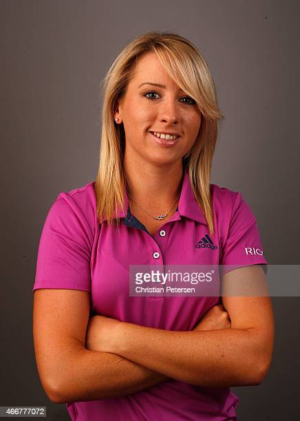 Jodi Ewart Shadoff of England poses for a portrait ahead of the LPGA Founders Cup at Wildfire Golf Club on March 18 2015 in Phoenix Arizona