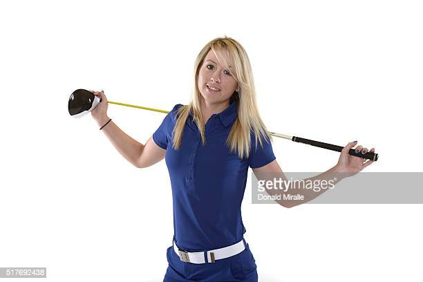 Jodi Ewart Shadoff of England poses for a portrait during the KIA Classic at the Park Hyatt Aviara Resort on March 23 2016 in Carlsbad California