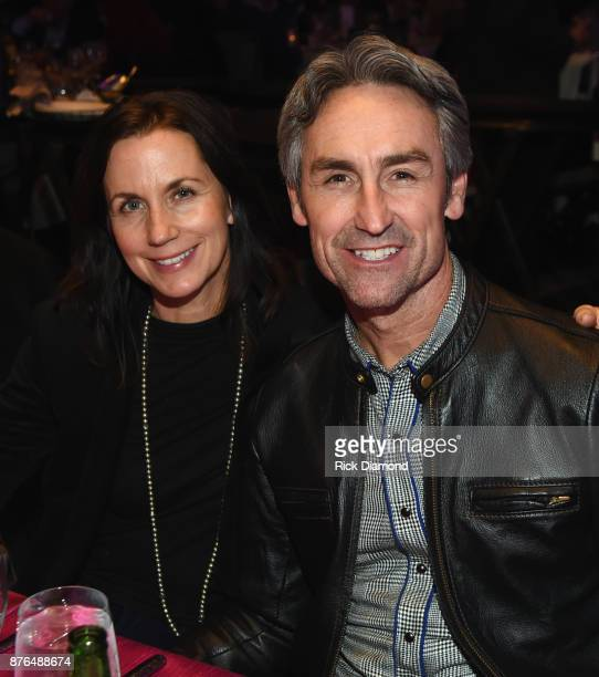 Jodi Faeth and Mike Wolfe of American Pickers attend the second annual 'An Evening Of Scott Hamilton Friends' hosted by Scott Hamilton to benefit The...