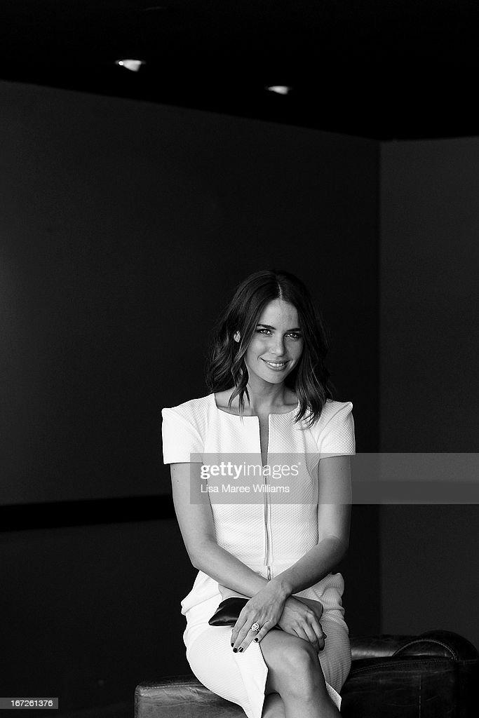 Jodi Gordon poses during the COSMO 40 Years Celebration Lunch at Otto Ristorante on April 23, 2013 in Sydney, Australia.