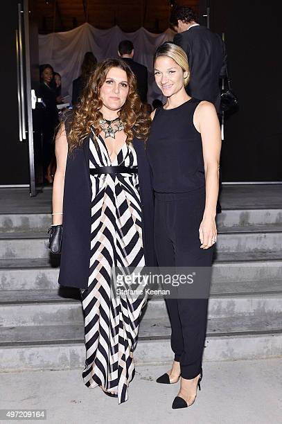 Jodi Guber Brufsky and Elizabeth Guber Sugarman attend the 2015 Baby2Baby Gala presented by MarulaOil Kayne Capital Advisors Foundation honoring...
