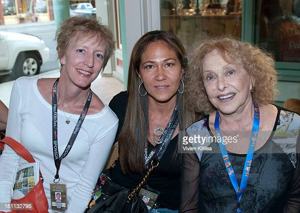 Jodi Hughes Susanna Saint Martin and Carolee Schneemann attend the UCLA TFT The Hollywood Reporter Filmmaker Reception at the 2012 Telluride Film...