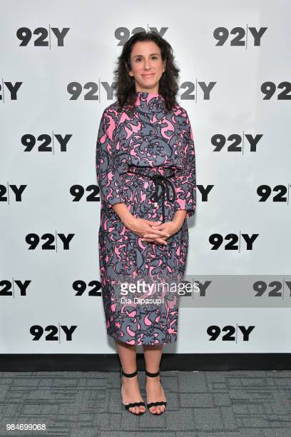 Jodi Kantor attends Amber Tamblyn 'Any Man' Book Release Conversation with Jodi Kantor at 92nd Street Y on June 26 2018 in New York City