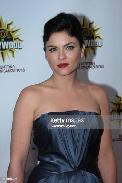 Jodi Lyn O'Keefe arrives at the 3rd Annual Hot In Hollywood Event on August 16 2008 in Hollywood California