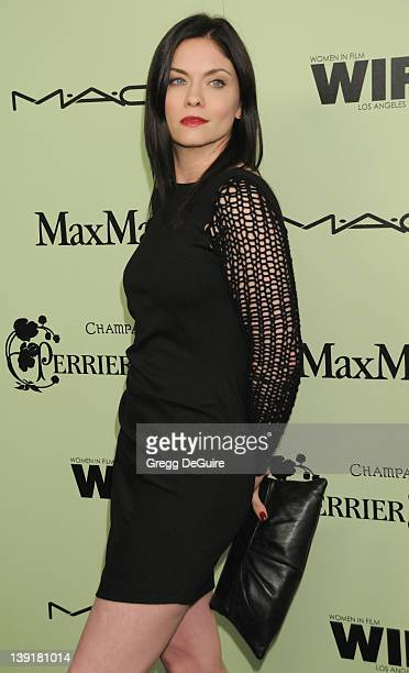 Jodi Lyn O'Keefe arrives at the 4th Annual Women In Film PreOscar Cocktail Party at the Soho House West Hollywood on February 25 2011 in West...