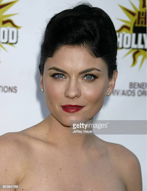 Jodi Lyn O'Keefe arrives the The 3rd Annual Hot In Hollywood Event at The Avalon on August 16 2008 in Hollywood California