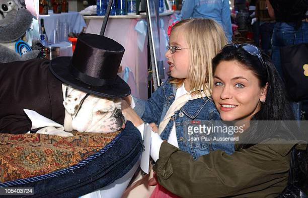 Jodi Lyn O'Keefe at Le Bulldog of Beverly Hills during Silver Spoon Dog and Baby Buffet Benefiting Much Love Animal Rescue Day Two at Private...