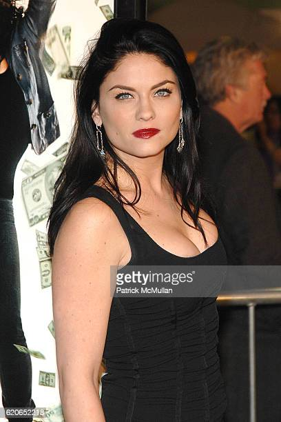 Jodi Lyn O'Keefe attends Mad Money Premiere Los Angeles Arrivals at Mann Village on January 9 2008 in Westwood CA