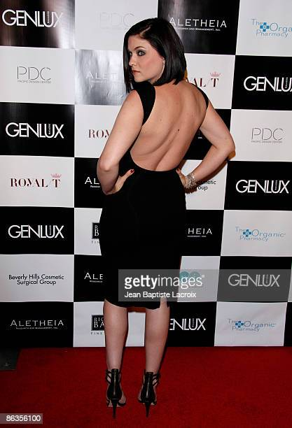 Jodi Lyn O'Keefe attends the Genlux Magazine's BritWeek Designer Of The Year Fashion Show And Awards on held at the Pacific Design Centre on May 2...