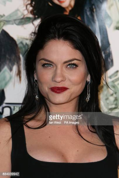 Jodi Lyn O'Keefe attends the premiere of new film Mad Money at the Mann Village Theatre in Westwood Village, Los Angeles.