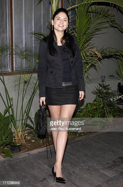 Jodi Lyn O'Keefe during Eric Balfour and Band in Concert at the GQ Lounge at GQ Lounge at White Lotus in Hollywood California United States