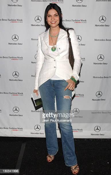 Jodi Lyn O'Keefe during MercedesBenz Fall 2005 LA Fashion Week at Smashbox Studios Day 3 Arrivals at Smashbox Studios in Culver City California...