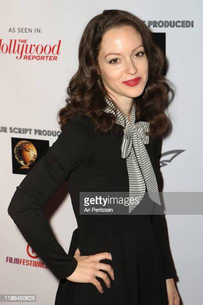 Jodi Lynn Thomas arrives at Your Script Produced! International Script Competition Season 1 Awards Dinner on November 08, 2019 in Beverly Hills,...