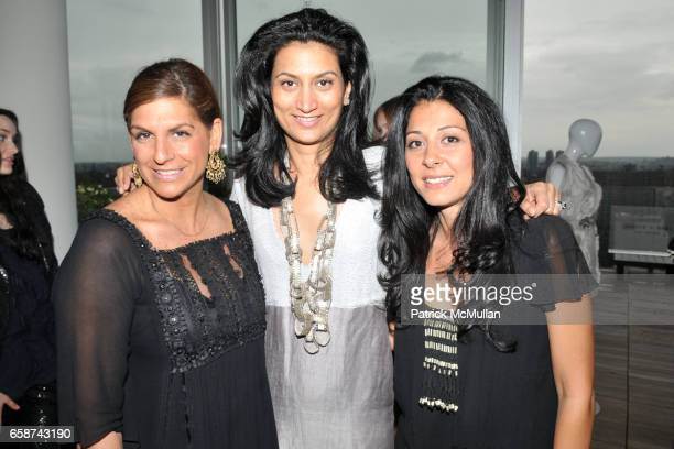 Jodi Sandman Babi Ahluwalia and Aida Khoursheed attend SACHIN and BABI for ANKASA Resort 2010 Presentation and Cocktails at Cooper Square Hotel...