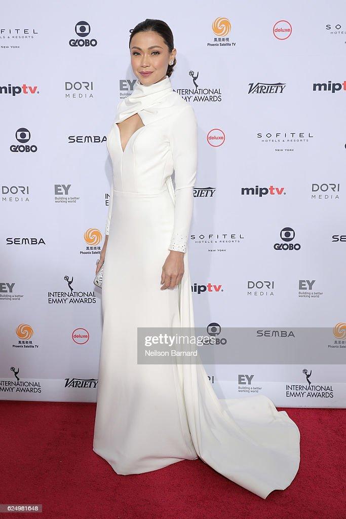 44th International Emmy Awards - Arrivals : News Photo