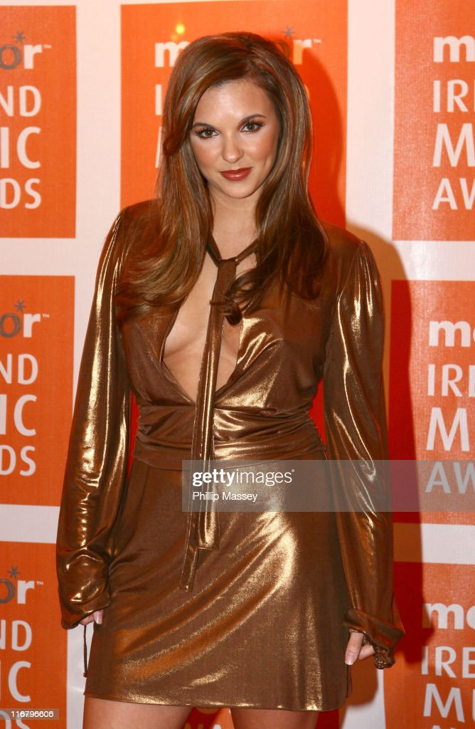 Jodie Albert during Meteor Ireland Music Awards 2007 at The Point in Dublin, Ireland.