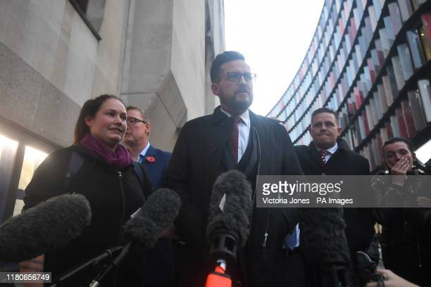 Jodie Chesney father Peter speaks outside the Old Bailey in London after Svenson OngaKwie and a 17yearold boy have been found guilty at the Old...