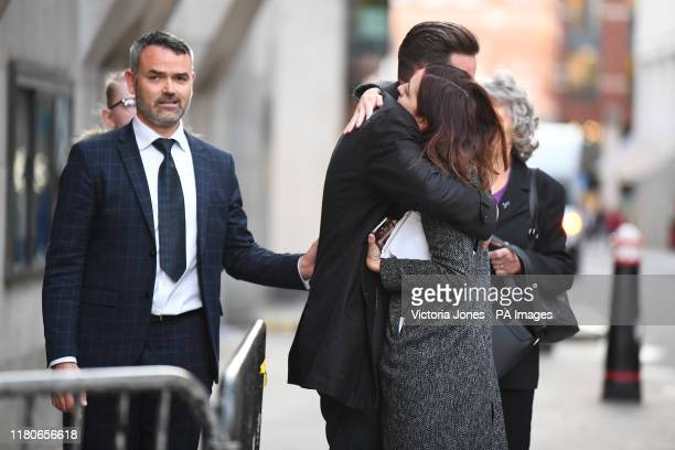 Jodie Chesney's father Peter Chesney outside the Old Bailey in London after Svenson OngaKwie and a 17yearold boy have been found guilty at the Old...
